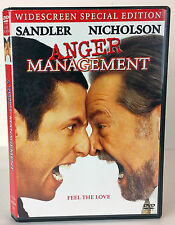 Anger Management (DVD, 2003, Widescreen Special Edition) WORLD SHIP AVAIL!