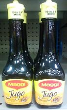 4 X Jugo Maggi Seasoning Sauces Lot Of Four 3.38 oz Each Glass Bottle Sealed
