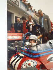 Derek Bell SIGNED, F1 Martini-Tecno PA123 F12, German GP Nurburgring 1972