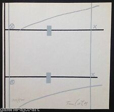 Rafael Tur Costa (1927) Lithographie Signée 1979 Abstrait Art Concret Abstract