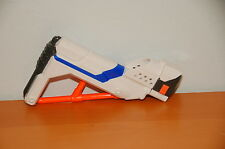 WHITE Nerf Retaliator N-Strike Elite Shoulder Stock Blue Recon