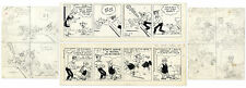 2 1971 Chic Young Original ''Blondie'' Comic Strips