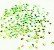 2000 Green Wedding Decoration Scatter Crystals Table Diamonds Confetti 3mm AB @