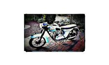 1964 5ta Bike Motorcycle A4 Retro Metal Sign Aluminium