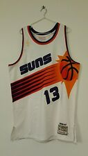 100% Authentic Steve Nash Champion Suns NBA Jersey 46