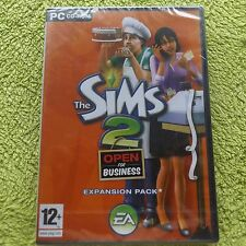 THE SIMS 2 Open For Business Pack di Espansione PC-CD POST VELOCE (MARCA NUOVO e SIGILLATO
