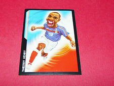 166 THIERRY HENRY EURO 2000 FRANCE PANINI FOOTBALL SUPER FOOT 2005 2006