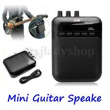 5W Aroma AG-03M Mini Electric Portable Guitar Amp Amplifier Recorder Speaker