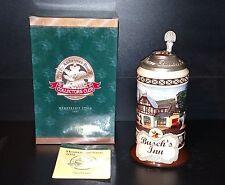 Anheuser Busch Budweiser Collectors Club 2002 Busch's Inn Stein