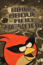 "NEW! ANGRY BIRDS SPACE ""BIRDS ABOVE AND BEYOND"" BOYS T-SHIRT, S- L (14/16)"