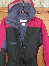 Columbia Snowsuit S Womens 6-8 Snowmobile Ski Snowboard Insulated Hooded 4co2