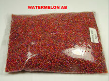 WHOLESALE LOT 500 GRAMS 12/0 GLASS SEED BEADS CLEARANCE (SS-709)