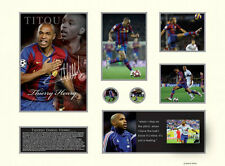 New Thierry Henry Signed Limited Edition Memorabilia