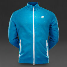 NIKE FC TECH FLEECE N98 LIGHT BLUE LACQUER ZIP JACKET BNWT SMALL