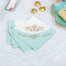 16 x Vintage Style Tea Party Paper Napkins Shabby Chic Buffet Wedding