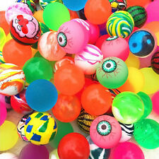 Lot 10pcs Bouncy Jet Balls Birthday Party Loot Bag Toy Fillers Fun For Kids Gift