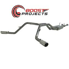 """MBRP 2.5"""" Cat Back Dual Exhaust System 07-09 Toyota Tundra 4.7L/5.7L V8 S5306409"""
