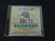 40 YEARS OF BBC TV THEMES ULTRA RARE SEALED CD! THE WATERMILL MAIGRET CICCOLINO