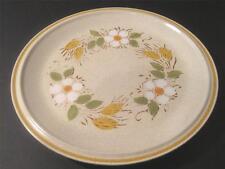 HEARTHSIDE GARDEN FESTIVAL DINNER PLATEs PRAIRIE FLOWERS Stoneware Hand Painted