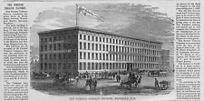 PIONEER TOBACCO FACTORY ARCHITECTURE BROOKLYN NEW YORK HORSES COACH WAGON CART