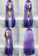 Watch Out Cosplay Long Straight Wig Purple White Black Red Pink Ladies Wigs UK