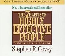 The 7 Habits of Highly Effective People by Stephen R. Covey (2011, CD,...