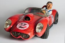 Guillermo Forchino Comic Art-The Fireball Race Car statue Figurine Sculpture
