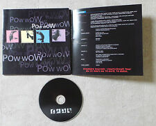 "CD AUDIO DISQUE FR/ POW WOW ""L'OASIS"" CD SAMPLER PROMO RARE 5 TITRES TRACKS"