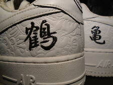 06 Nike Air Force 1 Low Premium MINMI JAPAN CO.JP WHITE BLACK 315205-111 12 10.5