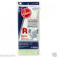 Genuine HOOVER Spring & Tempo Vacuum Bag Style R  #4010063R  5 pack  NEW!