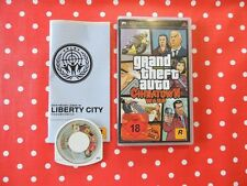Grand Theft Auto Chinatown Wars GTA PSP Playstation Portable OVP Anleitung USK18