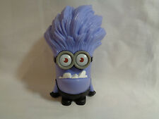 2013 McDonald's Happy Meal Toy Giggling Purple Minion Despicable Me 2 Figure
