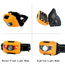 Mini Q5 Cree LED 500LM Head Torch Headlight Zoomable Comfortable Lightest Orange