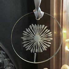 "Spaceform ""Dandelion"" Glass Christmas Token Friendship Gift Ideas For Her 2000"