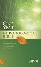 The One Year Chronological Bible NIV (1995, Paperback)