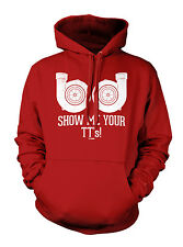 Show Me Your TT's - Twin Turbo Racing Cars Hoodie Sweatshirt