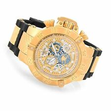 @NEW Invicta 50mm Subaqua Noma III Swiss Made SAN 3 Chronograph Silicone 18528