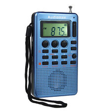 New Portable FM/AM Radio MP3 USB Speaker 9K/10k Tuning Step Radios 2W Sleep time