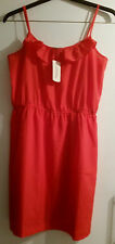 Sexy FOREVER 21 Red & Orange Sleeveless Summer Beach Dress Size:  M BNWT