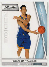 2010-11 Prestige JEREMY LIN Rookie RC Draft Picks LIGHT BLUE Rights /999 #210