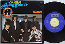 ROLLING STONES Carol FRENCH Only PIC COVER Not Fade Away 45 The France DECCA NM