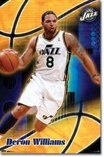 BASKETBALL POSTER Deron Williams – Utah Jazz NBA