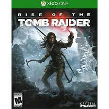 XBOX ONE RISE OF THE TOMB RAIDER GAME BRAND NEW SEALED MICROSOFT PAL
