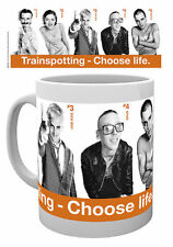 TRAINSPOTTING CHOOSE LIFE CAST MUG NEW GIFT BOXED 100 % OFFICIAL MERCHANDISE
