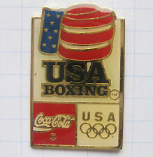 COCA COLA / OLYMPISCHE SPIELE USA BOXING .................. Pin (N9)
