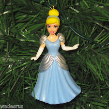 Princess Cinderella in Blue Gown - Custom Christmas Tree Ornament Holiday Decor