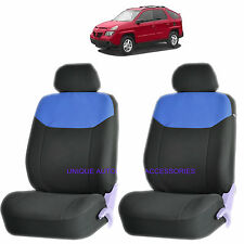 BLUE ELEGANT AIRBAG COMPATIBLE FRONT LOWBACK SEAT COVER for PONTIAC GRAND PRIX
