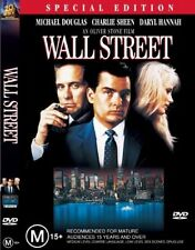Wall Street (DVD, R4 Aus) Charlie Sheen(Two and A Half Men/Anger Management) VGC