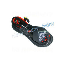 HID Relay Harness Wiring H4/H7/H10/H11/H13/9006/9007 For Xenon Kit Anti-Flicker