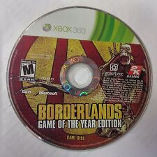 Borderlands - Game of the Year Edition (Microsoft Xbox 360)(DISC ONLY)#10464